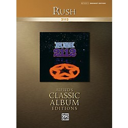 Alfred Rush: 2112 Drum Transcriptions Book (00-31467)
