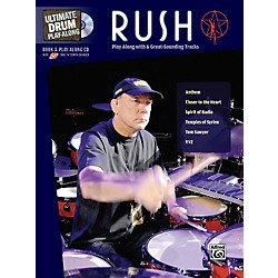 Alfred Rush Ultimate Drum Play-Along (Book/CD) (00-31869)