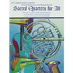 Alfred Sacred Quartets for All B-Flat Clarinet and Bass Clarinet (00-EL9770)