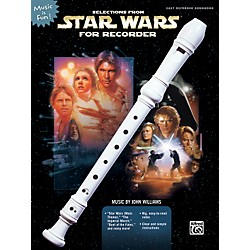 Alfred Selections From Star Wars for Recorder Book (322024)