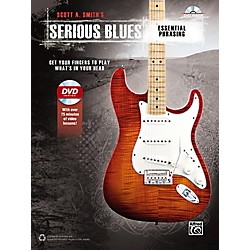 Alfred Serious Blues Essential Phrasing Book & DVD (00-42447)