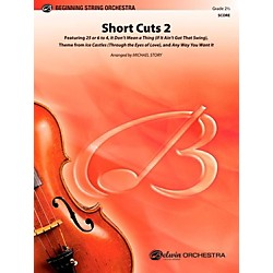 Alfred Short Cuts 2 String Orchestra Level 2.5 Set (00-41193)