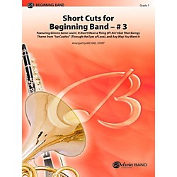 Alfred Short Cuts for Beginning Band #3 Concert Band Level 1 Set (00-42155)