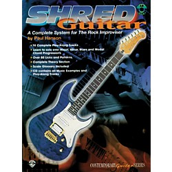 Alfred Shred Guitar: A Complete System for the Rock Guitar Improviser Book/CD (00-GF9606CD)