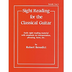 Alfred Sight Reading for the Classical Guitar Level I-III (00-EL02942)