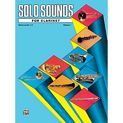 Alfred Solo Sounds for Clarinet Levels 1-3 (00-EL03331)