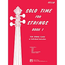Alfred Solo Time for Strings Book 1 Cello (00-13063)