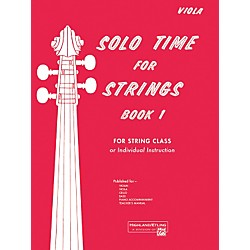 Alfred Solo Time for Strings Book 1 Viola (00-13062)