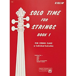 Alfred Solo Time for Strings Book 1 Violin (00-13061)