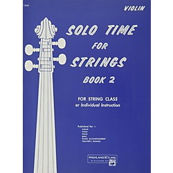 Alfred Solo Time for Strings Book 2 Violin (00-13068)