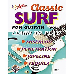Alfred SongXpress Classic Surf For Guitar - Volume 1 (DVD) (00-DVD0412)