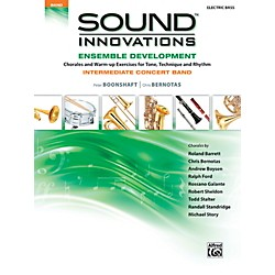 Alfred Sound Innovations Concert Band Ensemble Development Electric Bass Book (00-39085)