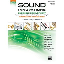 Alfred Sound Innovations Concert Band Ensemble Development Percussion 1 Book (00-39083)