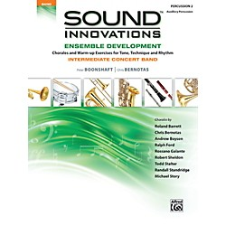 Alfred Sound Innovations Concert Band Ensemble Development Percussion 2 Book (00-39084)