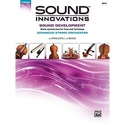 Alfred Sound Innovations String Orchestra Sound Development Advanced Bass Book (00-41099)