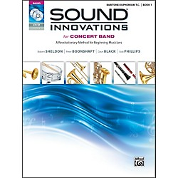 Alfred Sound Innovations for Concert Band Book 1 Baritone/Euph T.C. Book CD/ DVD (00-34540)