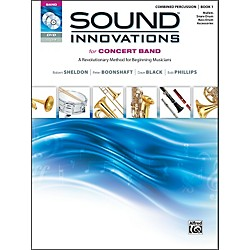 Alfred Sound Innovations for Concert Band Book 1 Combined Percussion Book CD/ DVD (00-34545)