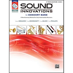Alfred Sound Innovations for Concert Band Book 2 B-Flat Tenor Sax Book CD/DVD (00-34556)