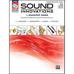 Alfred Sound Innovations for Concert Band Book 2 Combined Percussion Book CD/DVD (00-34567)