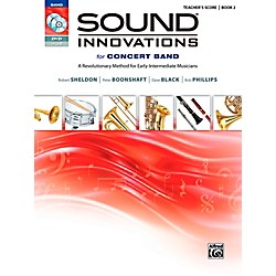 Alfred Sound Innovations for Concert Band Book 2 Conductor's Score Book (00-34548)