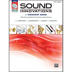 Alfred Sound Innovations for Concert Band Book 2 Flute Book CD/DVD (00-34549)