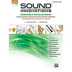 Alfred Sound Innovations for Concert Band Ensemble Development Conductor's Score (00-34570)