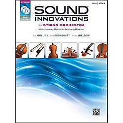Alfred Sound Innovations for String Orchestra Book 1 Bass Book CD/ DVD (00-34596)