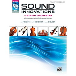 Alfred Sound Innovations for String Orchestra Book 1 Conductor's Score (00-36604)