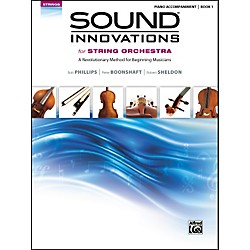 Alfred Sound Innovations for String Orchestra Book 1 Piano Accom. Book (00-34597)