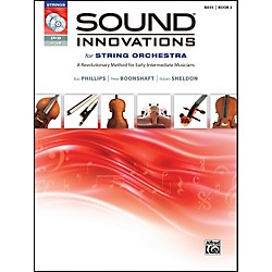Alfred Sound Innovations for String Orchestra Book 2 Bass Book CD/DVD (00-34603)