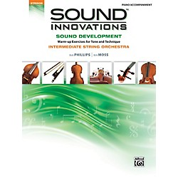 Alfred Sound Innovations for String Orchestra Sound Development Piano Accom. Book (00-34611)