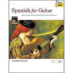 Alfred Spanish for Guitar Masters in TAB (00-18495)