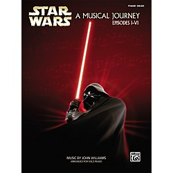 Alfred Star Wars A Musical Journey (Music from Episodes I - VI) Piano Solos (322092)