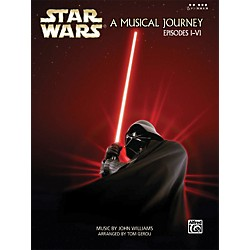 Alfred Star Wars A Musical Journey Music from Episodes I-VI Five Finger Piano Book (322311)