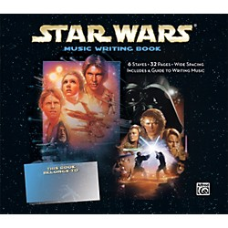 Alfred Star Wars Music Writing Book (00-31430)