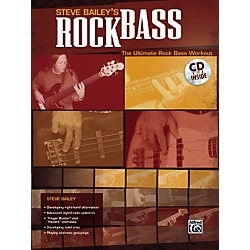 Alfred Steve Bailey - Rock Bass Book with CD (00-25575)