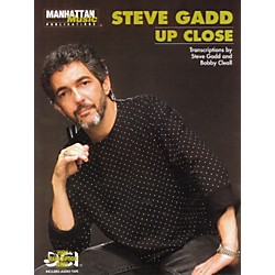 Alfred Steve Gadd Up Close (Book/CD) (00-MMBK0007CD)