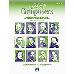 Alfred Stories of Great Composers Book and CD (00-16737)