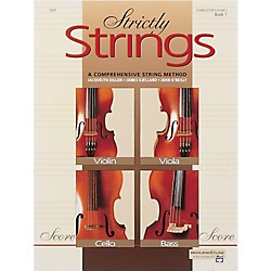Alfred Strictly Strings Book 1 Conductor's Score (00-5297)