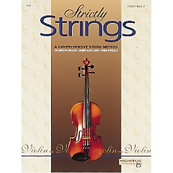 Alfred Strictly Strings Violin Book 2 (00-4394)