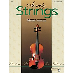 Alfred Strictly Strings for Violin Vol. 3  Book (00-16859)