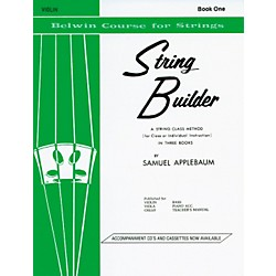 Alfred String Builder - Book 1 (00-EL01544)