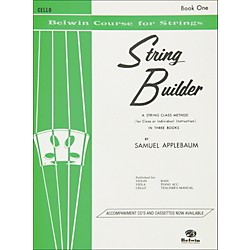 Alfred String Builder Cello Book I (00-EL01546)