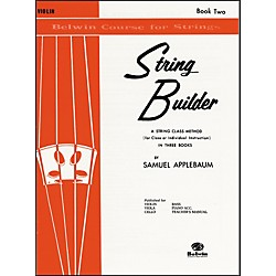 Alfred String Builder Violin Book II (00-EL01550)