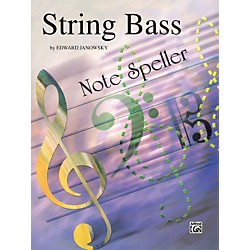 Alfred String Note Speller String Bass (00-EL00442)