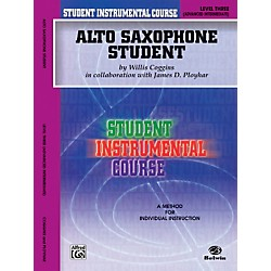 Alfred Student Instrumental Course Alto Saxophone Student Level 3 Book (00-BIC00331A)