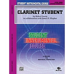 Alfred Student Instrumental Course Clarinet Student Level 3 Book (00-BIC00306A)