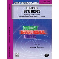 Alfred Student Instrumental Course Flute Student Level 3 Book (00-BIC00301A)