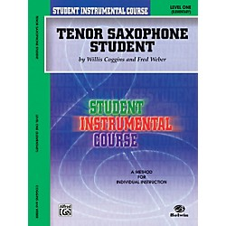 Alfred Student Instrumental Course Tenor Saxophone Student Level 1 Book (00-BIC00136A)