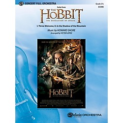 Alfred Suite from The Hobbit: The Desolation of Smaug Full Orchestra Grade 3.5 Set (00-42080)